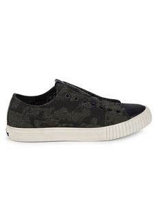 John Varvatos Camo Tweed Slip-On Sneakers