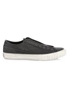 John Varvatos Canvas Low-Top Sneakers