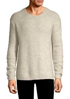 John Varvatos Cashmere Silk Crewneck Sweater