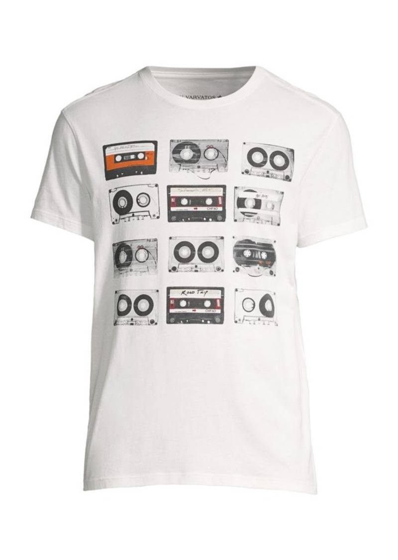 John Varvatos Cassette Tape Crew Tee