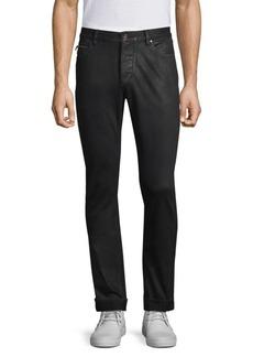 John Varvatos Chelsea Coated Slim-Fit Jeans