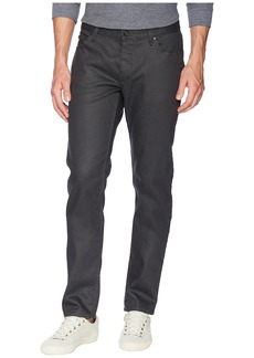 John Varvatos Chelsea Skinny Fit Jeans in Metal Grey