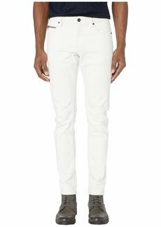 John Varvatos Chelsea Zipper Fly Ulta Slim Fit Jeans in White J332ZV1