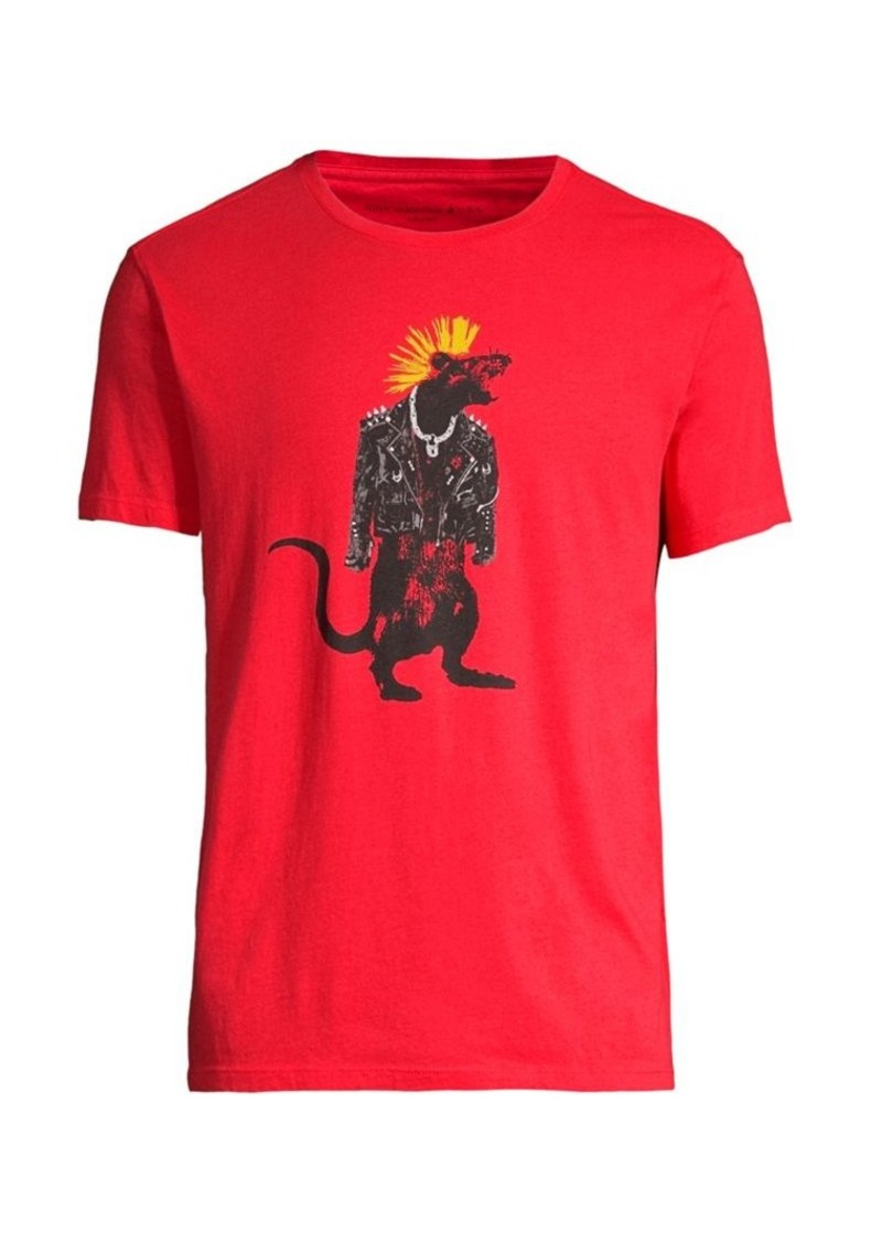 John Varvatos Chinese New Year Rat Punk T-Shirt