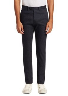 John Varvatos City Slim-Fit Wool-Blend Trousers