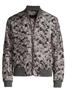 John Varvatos Conway Camo Bomber Jacket