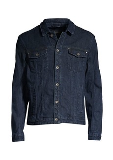 John Varvatos Denim Trucker Jacket