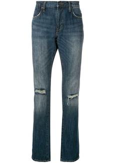 John Varvatos distressed detail jeans
