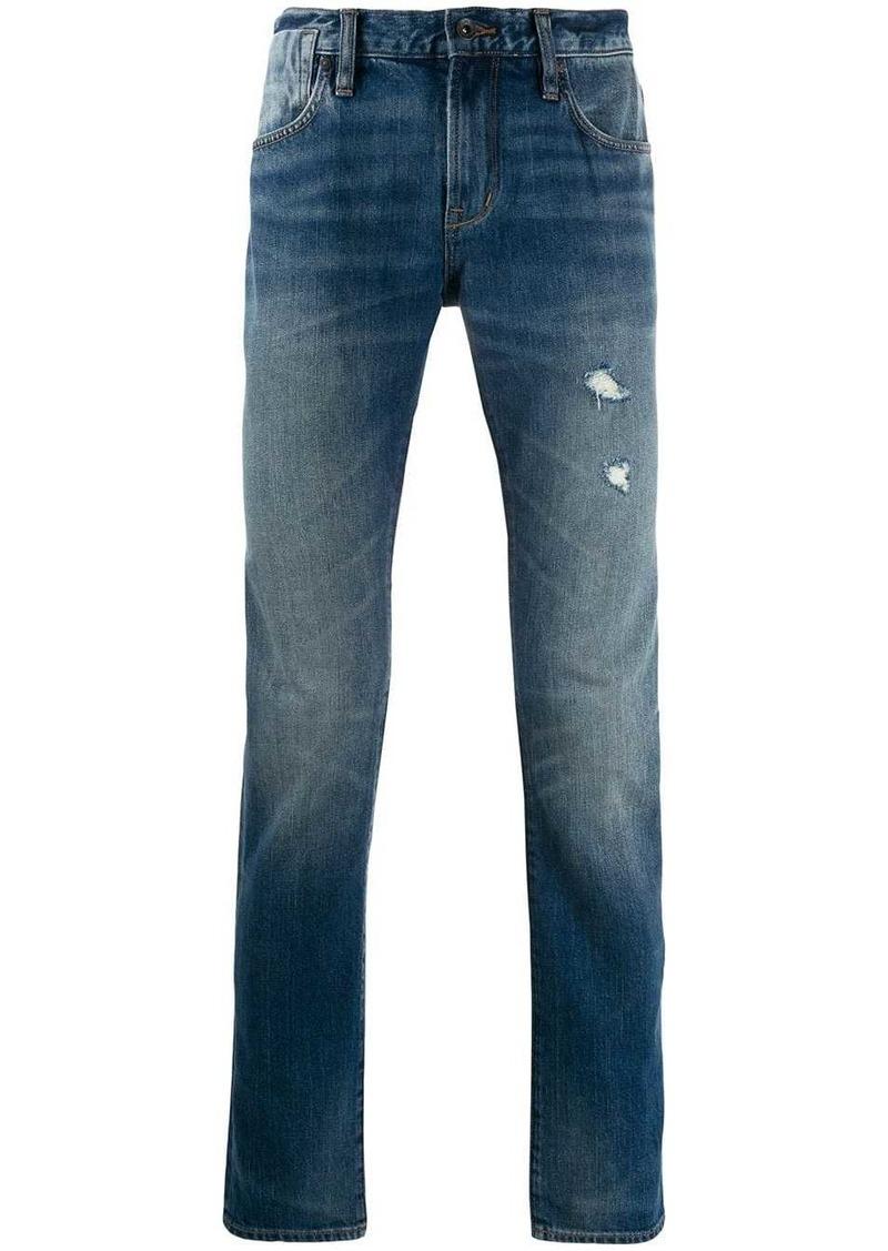 John Varvatos distressed jeans