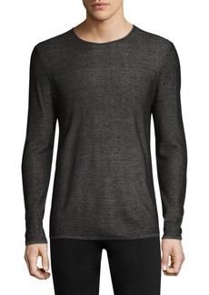 John Varvatos Double Face Crewneck Sweater
