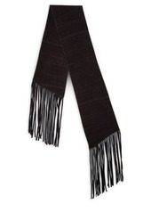 John Varvatos Double Layer Wool Scarf