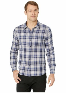 John Varvatos Double Weave Plaid/Small Check Slim Reversible Shirt