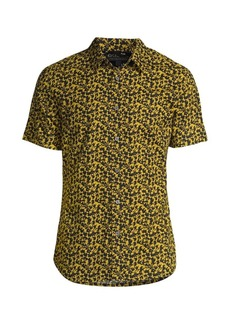 John Varvatos Doug Regular-Fit Floral Shirt