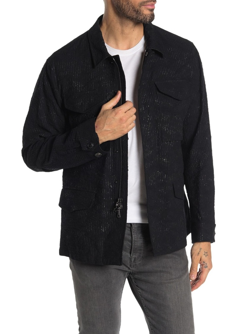 John Varvatos Easy Fit Military Jacket