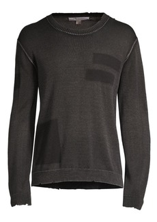 John Varvatos Easy-Fit Pima Cotton Sweater