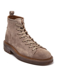 John Varvatos Esssex Leather Combat Boot