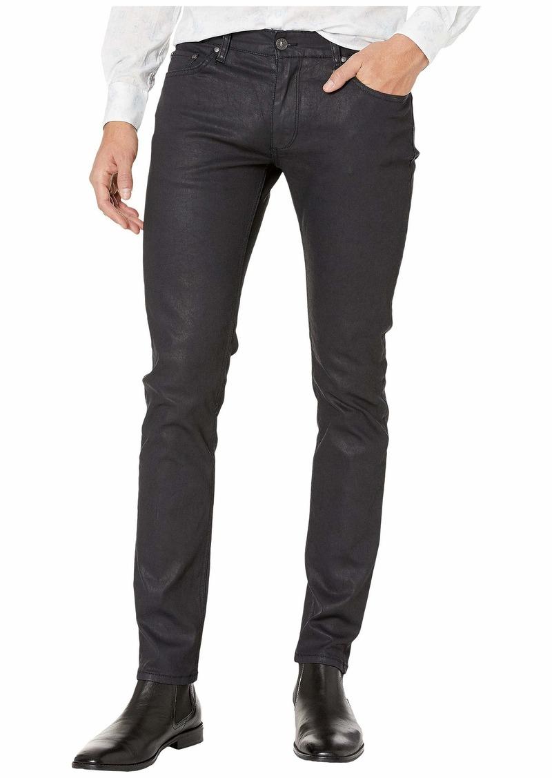John Varvatos Extra Dark Chelsea Fit Jeans with D-Ring in Indigo J295V4