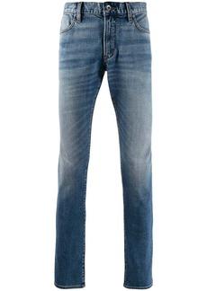John Varvatos faded jeans