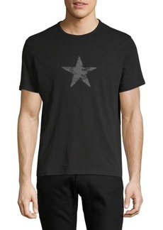 John Varvatos Faded Star Graphic Cotton Tee