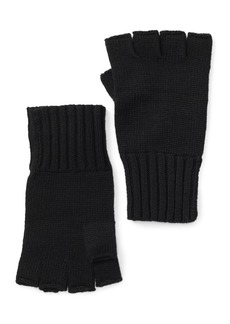 John Varvatos Fingerless Knit Gloves
