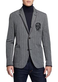John Varvatos Finley 2 To 4 Notch Work Style Soft Jacket