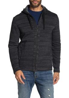 John Varvatos Fleece Lined Hoodie Jacket