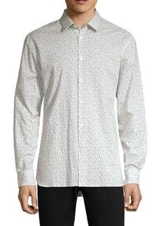 John Varvatos Floral Printed Button-Down Shirt