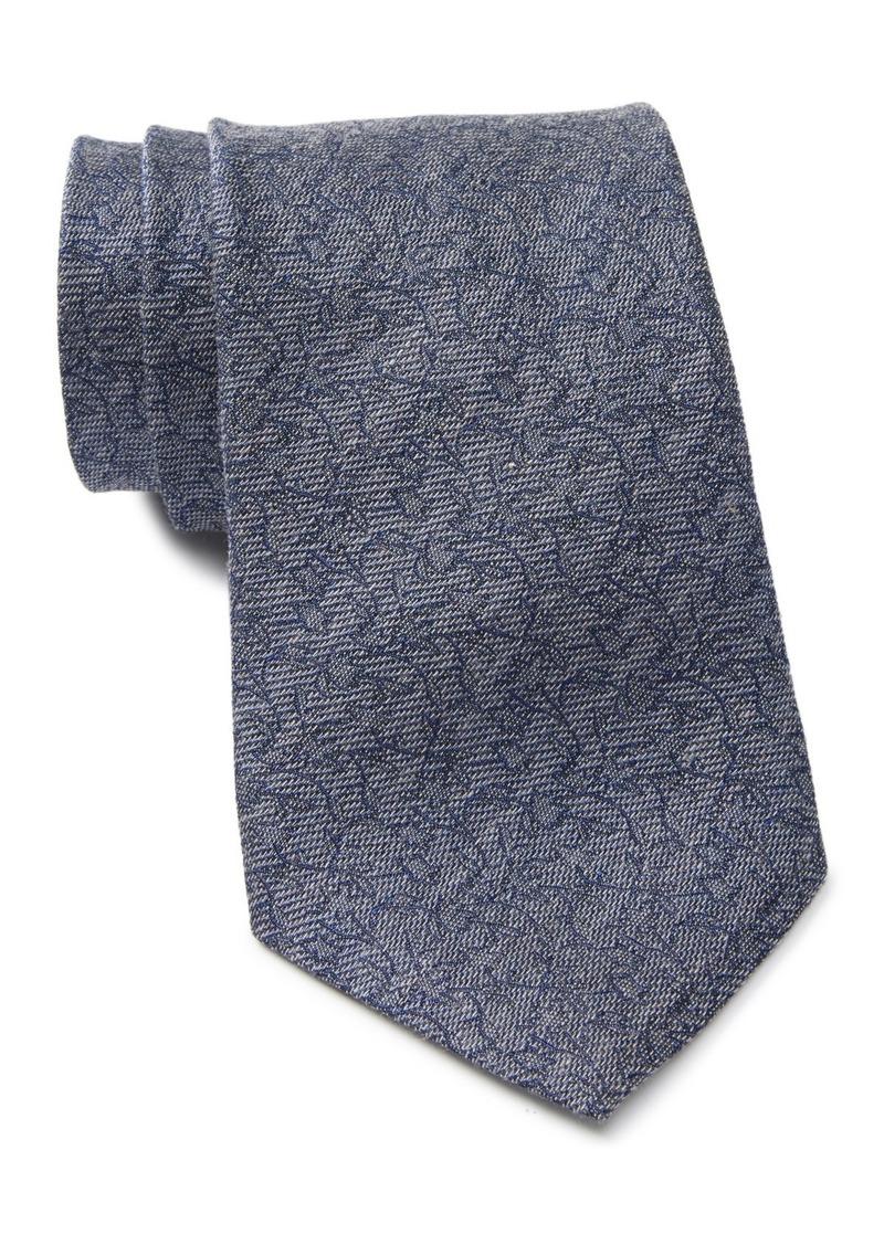 John Varvatos Floral Wide Tie