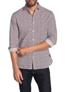 John Varvatos Fulton Floral Sport Shirt