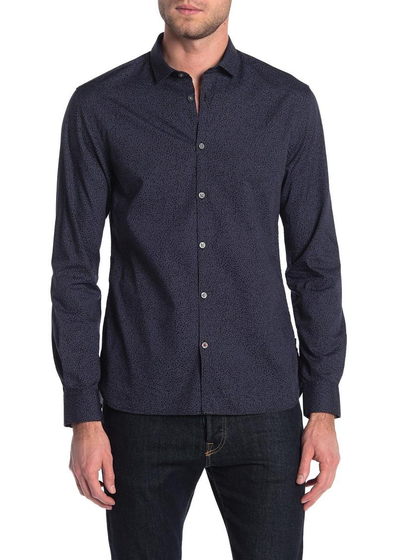 John Varvatos Fulton Long Sleeve Sport Shirt