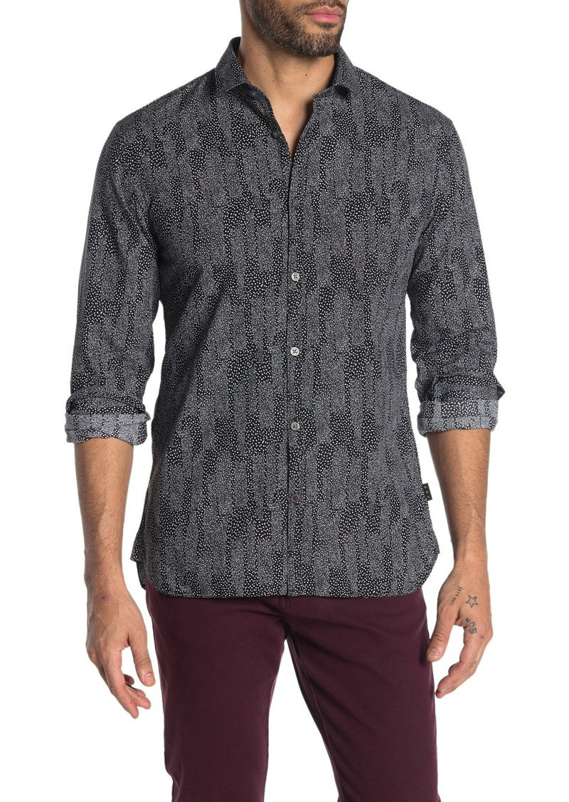 John Varvatos Fulton Long Sleeve Sport Shirt