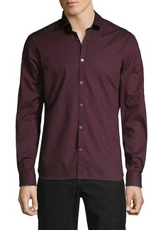John Varvatos Fulton Slim-Fit Floral Shirt