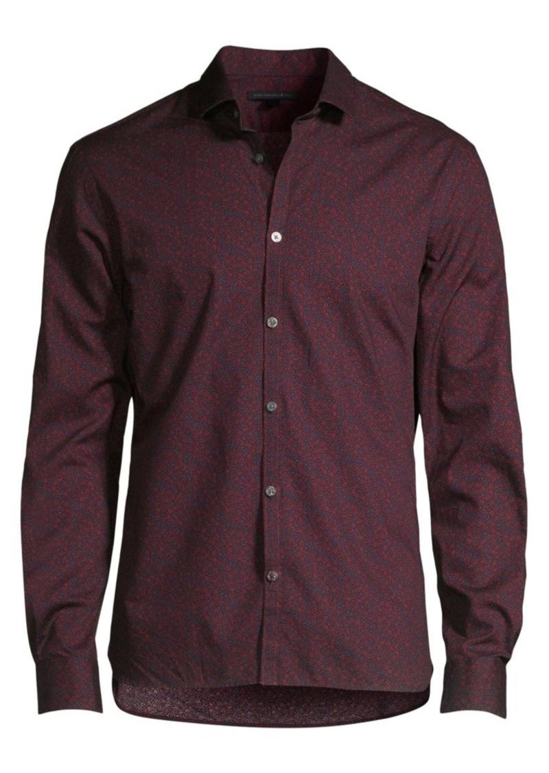 John Varvatos Fulton Slim-Fit Floral Shirt