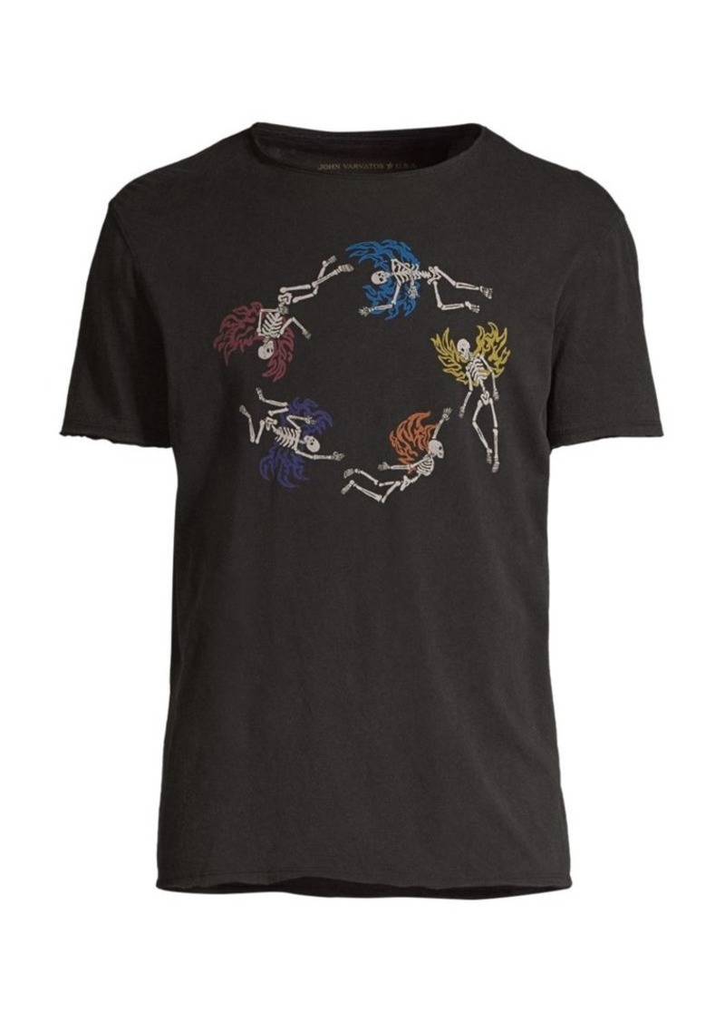 John Varvatos Graphic Crewneck Tee