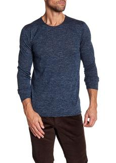 John Varvatos Heathered Crew Neck Sweater