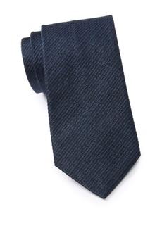 John Varvatos Herringbone Solid Tie