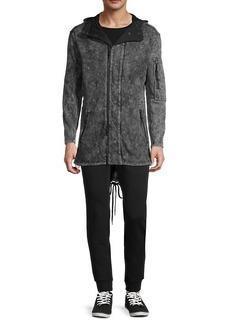 John Varvatos Hooded Denim Jacket