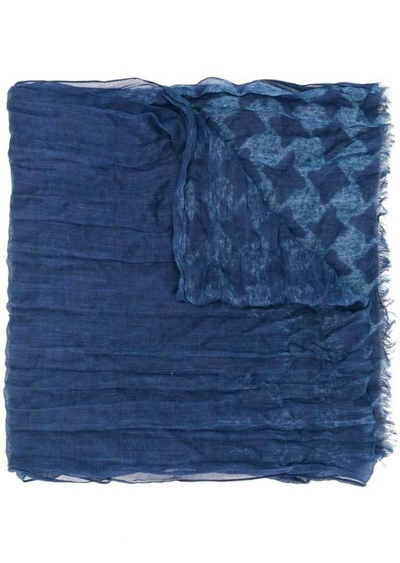 John Varvatos houndstooth scarf