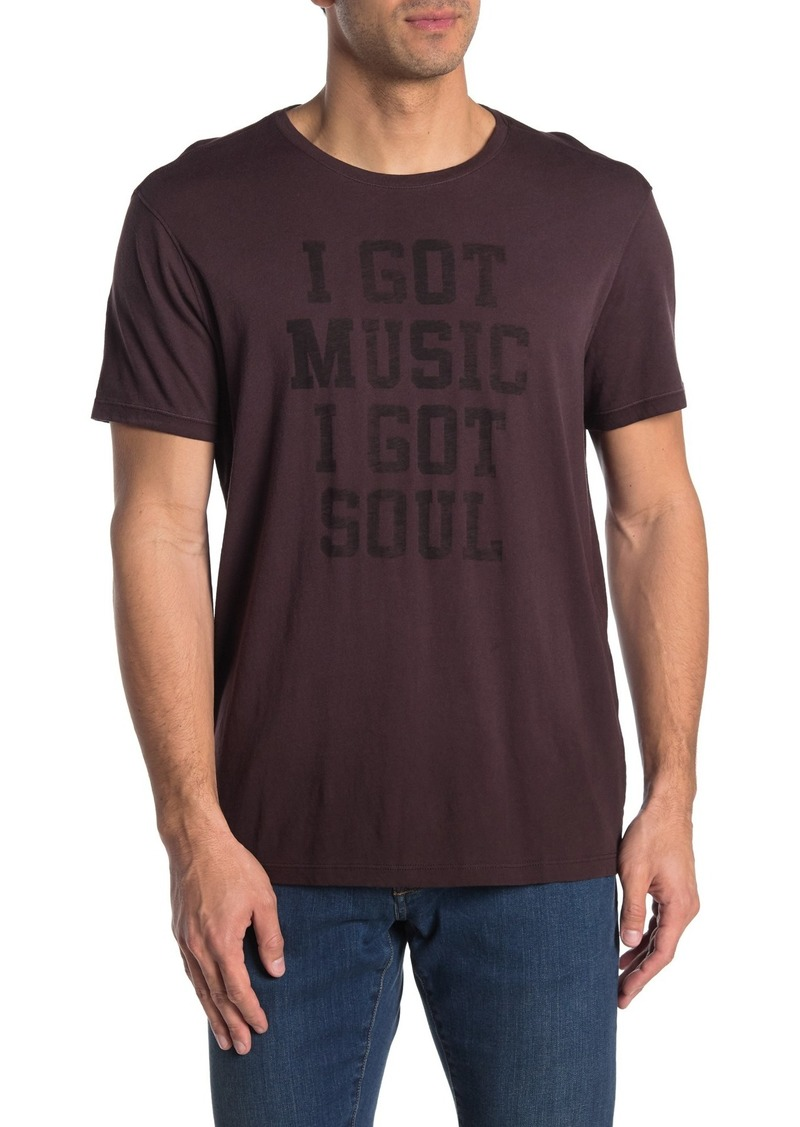 John Varvatos I Got Soul Graphic Crew Neck T-Shirt