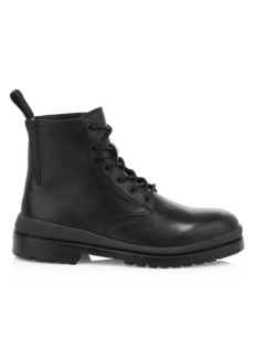 John Varvatos Jarvis Punk Leather Boots