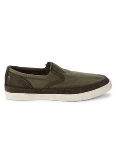 John Varvatos Jet Contrast Slip-On Sneakers