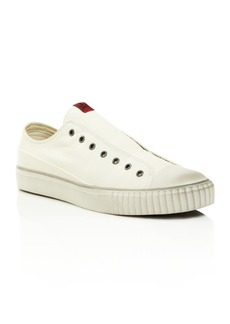 John Varvatos Bootleg Men's Coated Linen Slip-On Sneakers