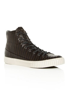 John Varvatos Bootleg Men's Leather High-Top Sneakers