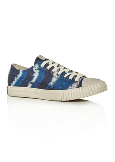 John Varvatos Bootleg Men's Vulcanized Tie-Dye Low-Top Sneakers
