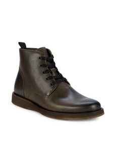 John Varvatos Brooklyn Leather Lace-Up Boots