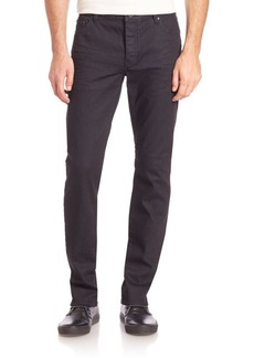 John Varvatos Button-Fly Slim-Fit Jeans