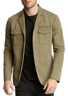 John Varvatos Collection Army Cargo Slim Fit Jacket
