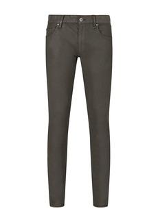 John Varvatos Collection Chelsea Garment Washed Slim Fit Jeans in Sage Brush