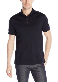 John Varvatos Collection Collection Men's Polo with Shoulder Seam Detail  XXL US