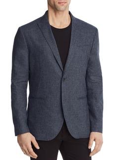 John Varvatos Collection Heathered Slim Fit Blazer
